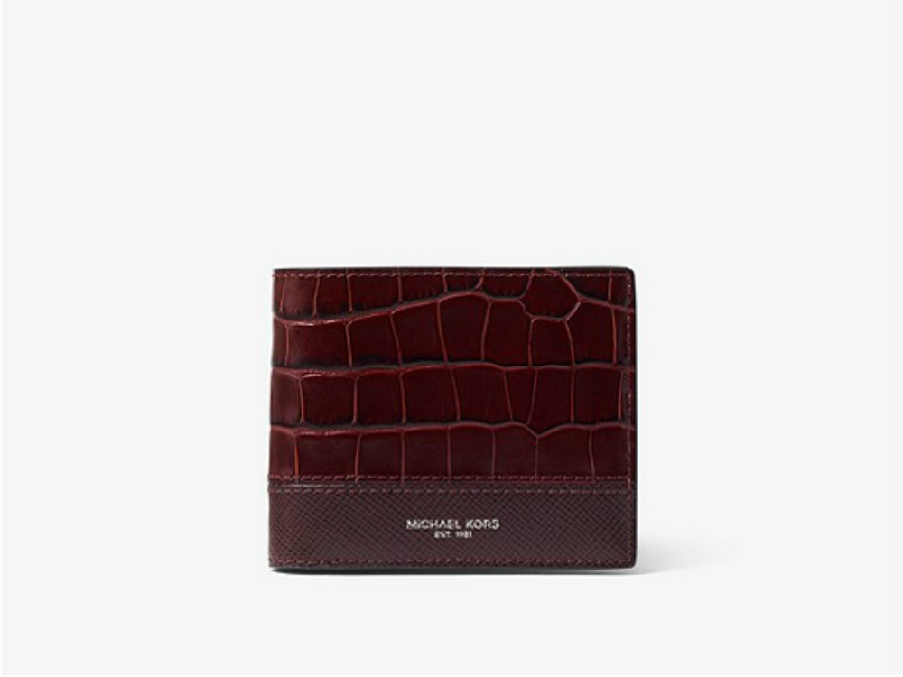 Cordovan_Red_Michael_Kors_Wallet