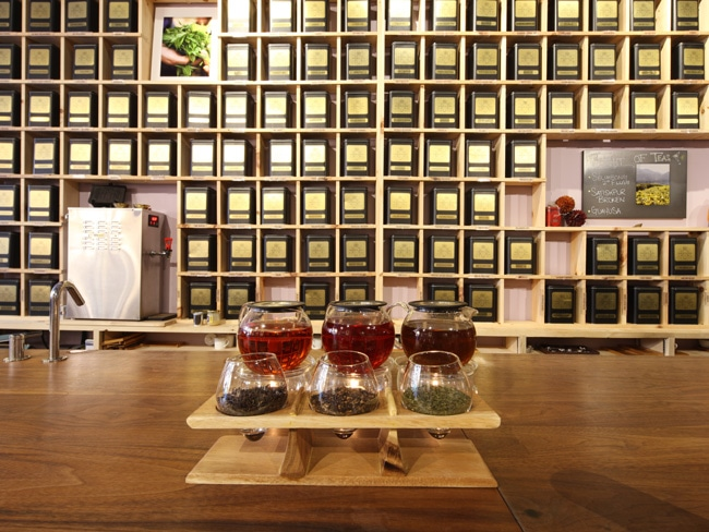 Harney and Sons SoHo Tea bar.