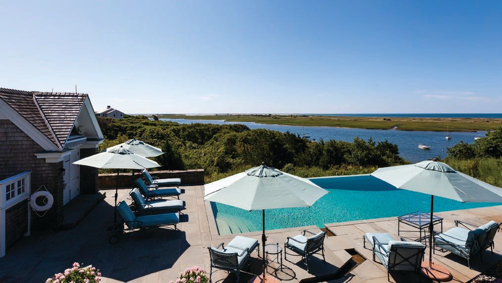 The pool at Viewpoint Estate comes with pristine water views COURTESY OF BRIAN DOUGHERTY, COMPASS